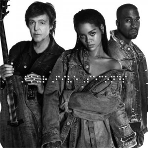 Cover du morceau FourFiveSeconds - Rihanna feat. Paul McCartney et Kanye West